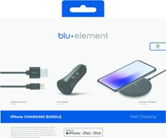 Blu Element iPhone Power Charging Bundle