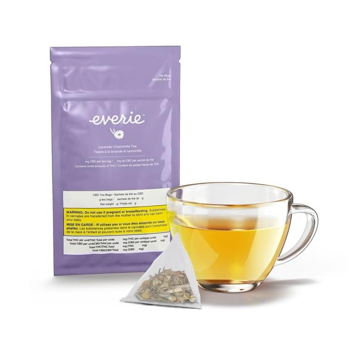 Lavender Chamomile CBD Tea - Everie - Tea
