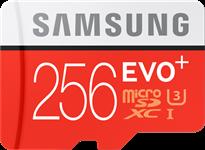 Samsung MicroSDXC EVO+ Memory Card w/ Adapter 256GB