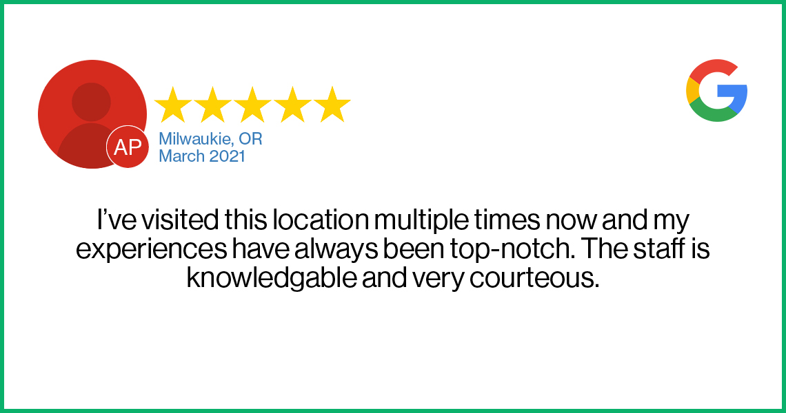 Check out this recent customer review about the Verizon Cellular Plus store in Milwaukie, Oregon.