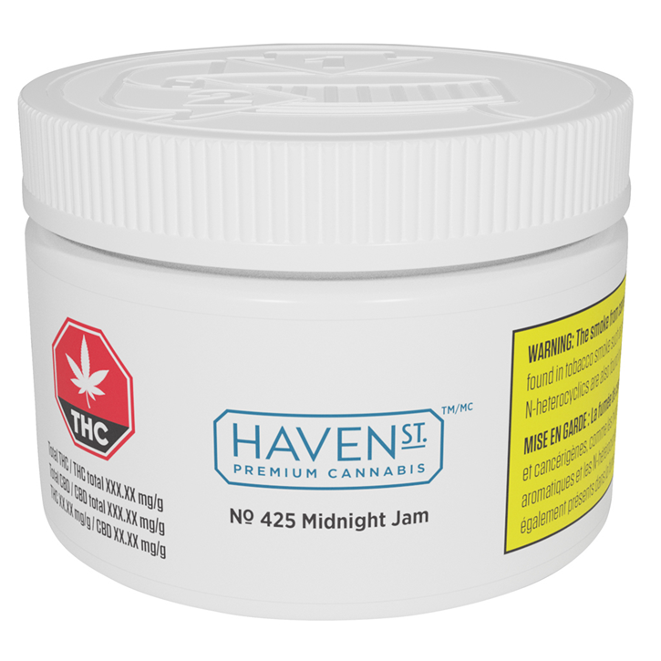 No. 425 Midnight Jam - Haven St. - Dried Flower