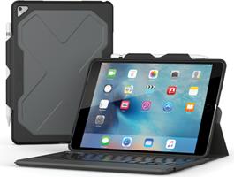 Zagg iPad Pro 10.5 Rugged Messenger Backlit Bluetooth Keyboard Case