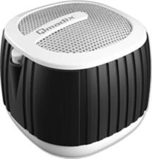 Qmadix QPOP bluetooth Speaker w changable multi-color accent bands