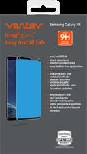 Ventev - Galaxy S9+ - Toughglass Easy Install Edge 2 Edge Tempered Glass Screen Protector