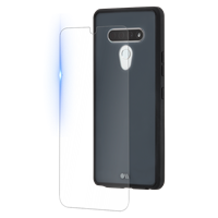 Case-Mate Lg Stylo 6 Black Protection Pack Tough Case And Glass Screen Protector