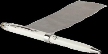 Digital Innovations 3-IN-1 Stylus Pen White