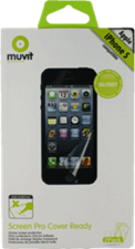 Muvit iPhone 5/5s/SE   Curvy ScreenProtector (2pk)