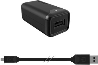 Qmadix 2.0 Quick Charge Wall Charger with 6' Flat Cord