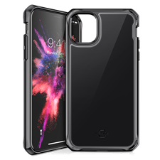ITSKINS iPhone 11 Pro Max Hybrid Glass Lridium Case
