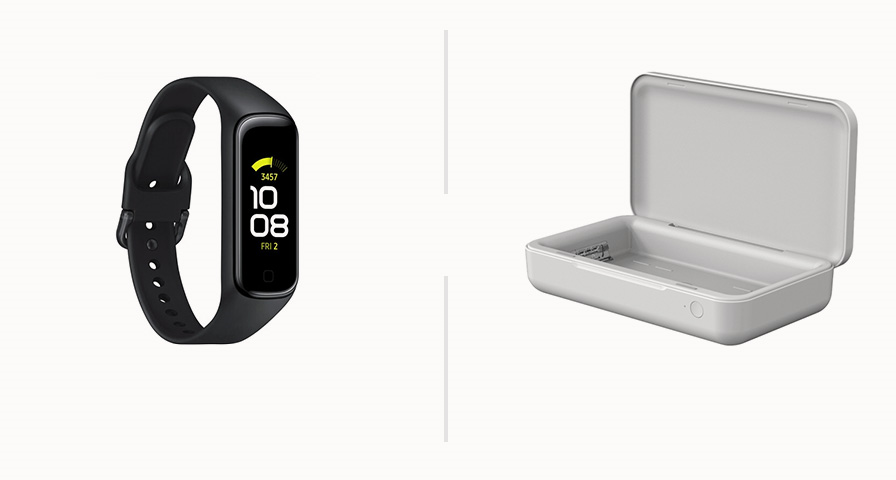 Galaxy Fit2 or UV Sanitizer with wireless charging