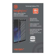 Ventev Galaxy S8+ edge to edge toughglass (case compatible)