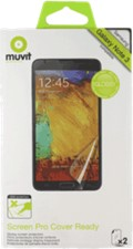 Muvit Samsung Galaxy Note III Cover Ready Screen Protector