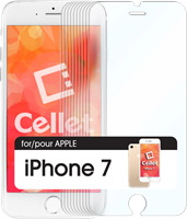 Cellet iPhone 7 Cellet Premium Tempered Glass Screen Protector 10 Pack