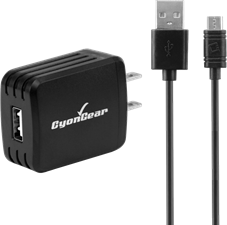 Cellet Cyongear 5W microUSB Wall Charger