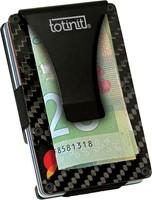 totinit Totinit Vault Carbon Fiber RFID Wallet