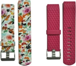 Affinity Electronics Fitbit Charge 2 Band Duo Pack TPU