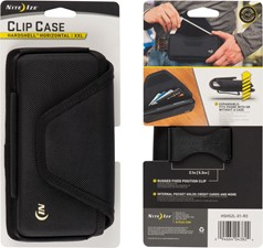Nite Ize Clip Case Hardshell XXL Horizontal Pouch