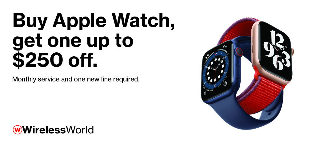 Apple Watch BOGO