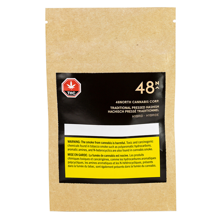 Traditional Pressed Hashish - 48North - Hash