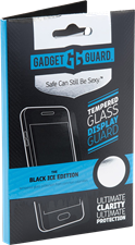Gadget Guard Galaxy J1 Black Ice Edition Tempered Glass Screen Protector