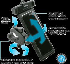 Scosche Waterproof Handlebar Phone Mount