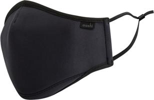 Moshi OnmiGuard Textile Mask Black (L)