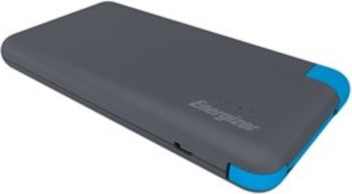 TennRich International Corp. Energizer Powerbank 8000 mAh with Integrated Micro USB/Type C Charging Cable