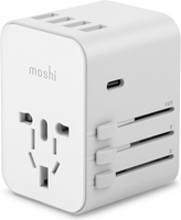 Moshi World Travel Adapter USB-C and USB-A Ports