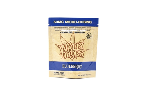 Wally Drops: Blueberry 50mg
