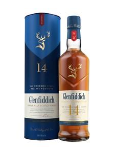 PMA Canada Glenfiddich 14YO Bourbon Barrel Reserve Single Malt Scotch Whisky 750ml