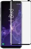 Blu Element Galaxy S9+ 3D Curved Glass Case-Friendly Screen Protector