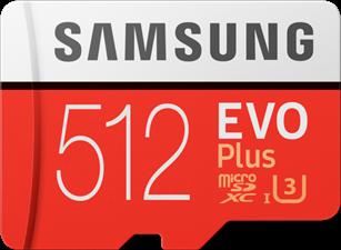 Samsung 512GB EVO Plus Micro SD Card