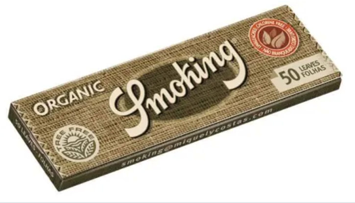 Smoking, Organic 1.25 Rolling Papers