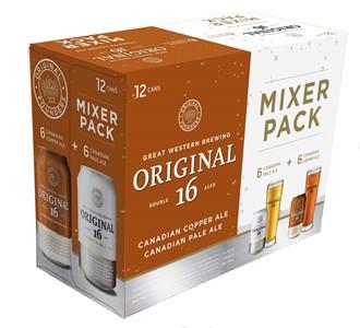 Great Western Brewing Company 12C Original16 Pale & Copper Mixer 4260ml