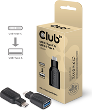 Club3D - USB-C 3.1 Gen 1 Male to USB 3.1 Gen 1 Female adapter