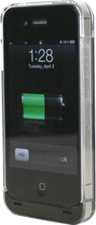 Powerocks iPhone 4/4s  Crystal Energy 1800mAh External Battery Case