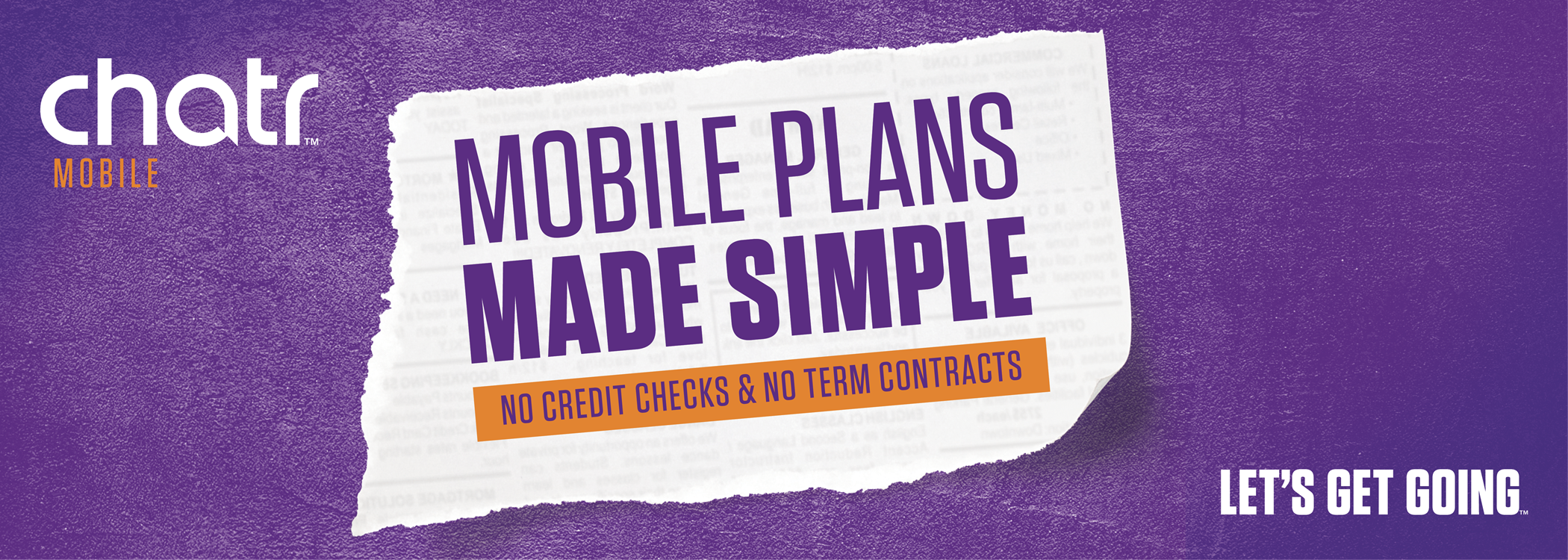 Mobile plans made simple from chatr mobile