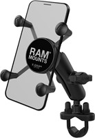 RAM Mounts RAMX-GripUniversal Phone Mount with Handlebar U-Bolt Base