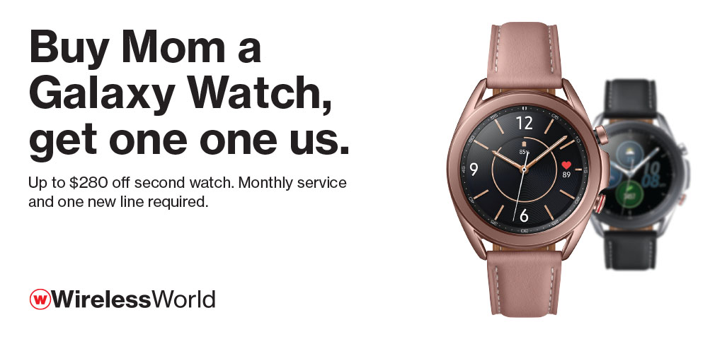 Get Mom A Galaxy Watch, Get One On Us