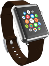 Incipio Apple Watch  Premium Leather 42mm Band