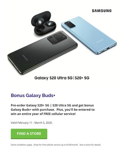 Samsung S20 Ultra 5G with Tom Harris TELUS & Koodo Stores