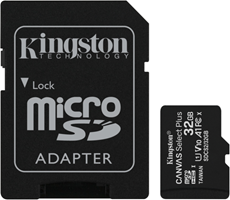Kingston MicroSDHC Class 10 Flash Memory Card