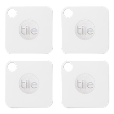 Tile Mate Bluetooth Tracker - 4 pack