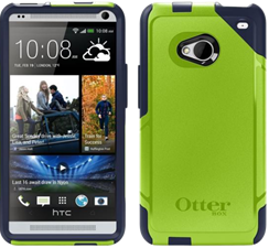 OtterBox HTC One Commuter Case - Punked