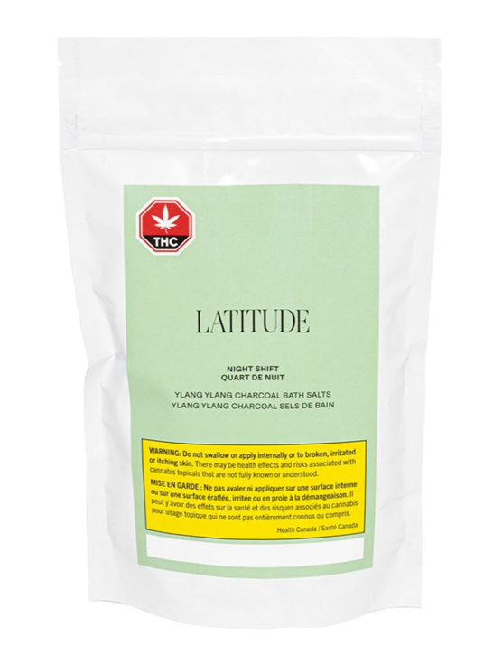 Night Shift 1:1 Bath Salts - Latitude - Topicals