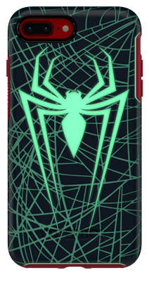 new product 6207e af05b OtterBox iPhone 8 Plus/7 Plus Symmetry Series Marvel Spider-Man and ...