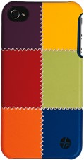 Trexta iPhone 4/4s Snap-on Patchwork Case