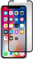 Gadgetguard iPhone X Black Ice Plus Cornice Curved Edition Tempered Glass Screen Guard
