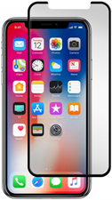 Gadgetguard iPhone X/XS/11 Pro Black Ice Plus Cornice Curved Edition Tempered Glass Screen Guard