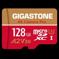Gigastone - Microsd A1 V30 Memory Card 128gb